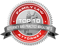 top 10 divorce lawyers badge, somerville nj