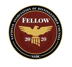 national association of divorce lawyers badge 2020